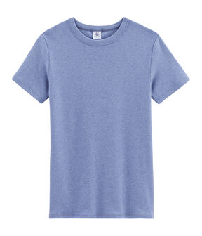 Ikonisches Damen-T-Shirt blau Captain Chine