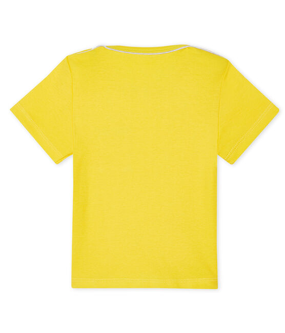 Tee shirt manches courtes bébé garçon gelb Shine