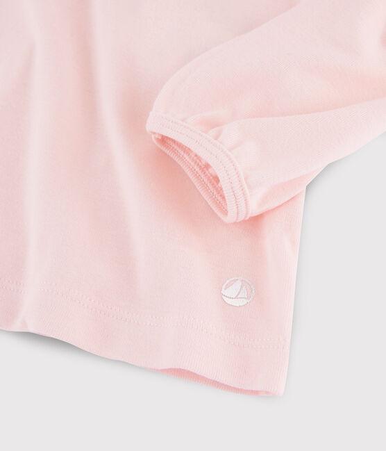 Kinder-T-Shirt mit Kragen für Mädchen MINOIS