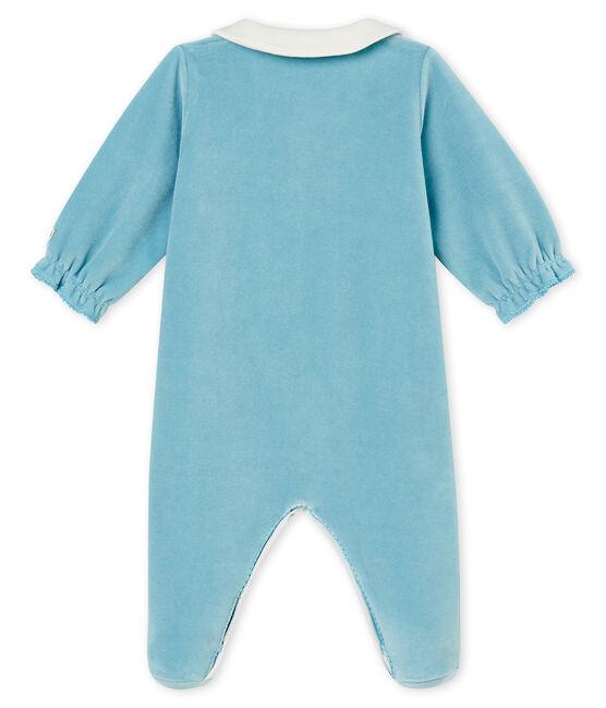 Baby MädchenStrampler blau Mimi