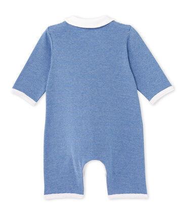 Baby-Jungen-Overall mit Milleraies-Ringelmuster