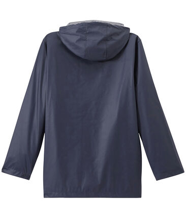 Ikonische Regenjacke Unisex blau Smoking