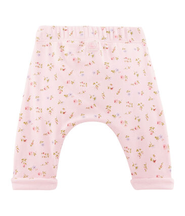 Unisex Baby Hose rosa Vienne / weiss Multico