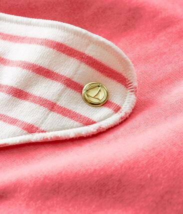 Set aus zwei Halstuch-Lätzchen für kleine Mädchen lot .