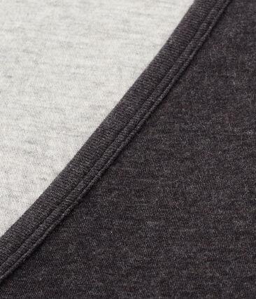 Damen-strickjacke aus extra feiner gedoppelter baumwolle