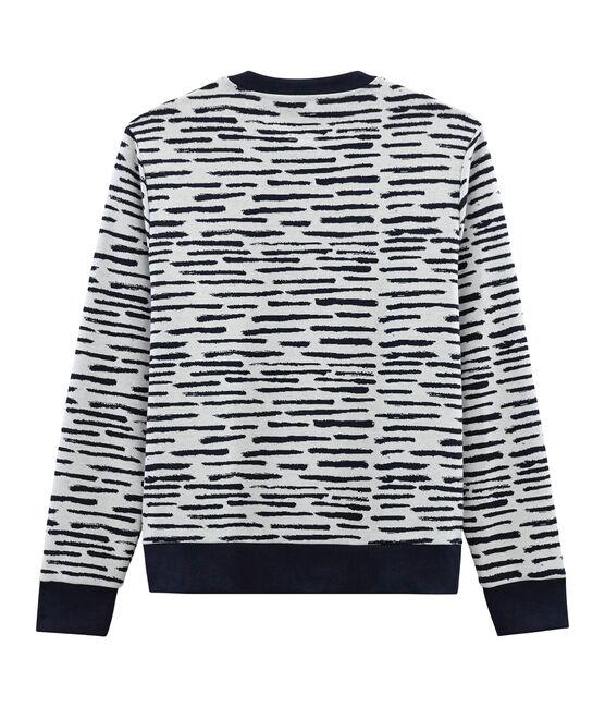 Sweatshirt in Kooperation mit Jean Jullien MARSHMALLOW/DASH CN