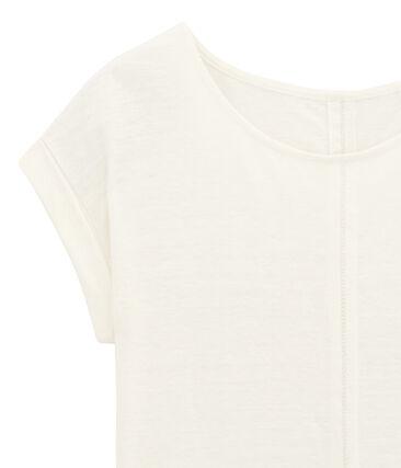 >>T-Shirt mit kurzen Ärmeln weiss Lait