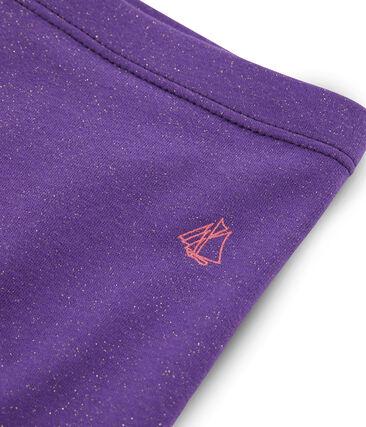 Kinder-Radhose für Mädchen violett Real / gelb Or