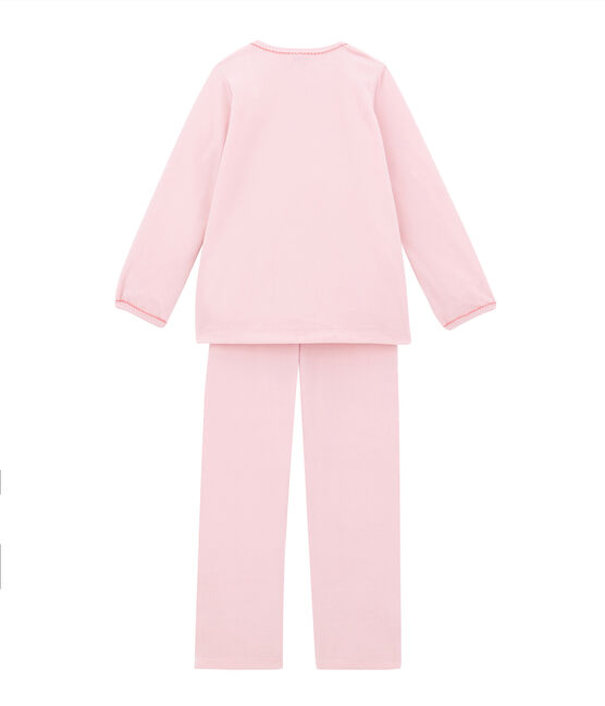 Mädchen Schlafanzug rosa Joli