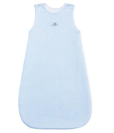 Baby-schlafsack unisex mit ringelstreifen
