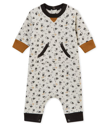 Langer Baby Jungen Overall mit Print