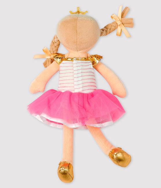 Tanzpuppe für kleine Mädchen rosa Fleur / weiss Multico