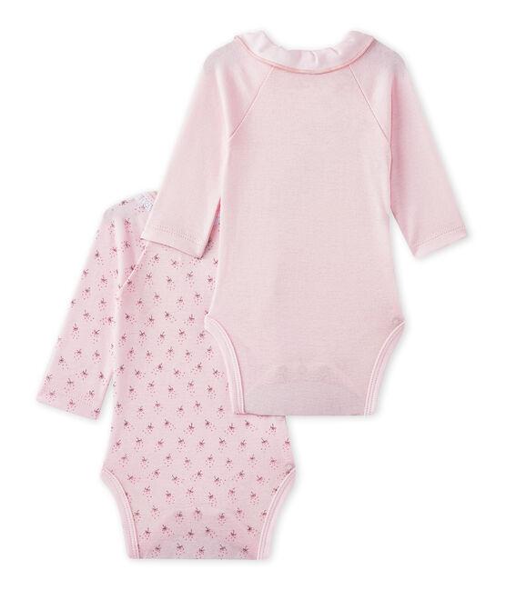Baby-Mädchen-Bodys für Neugeborene im 2er-Set lot .
