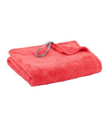 Badetuch Kinder/Erwachsene Unisex rosa Groseiller