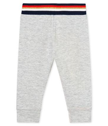 Baby-Hose aus Doppeljersey für Mädchen grau Beluga