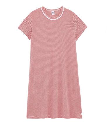Rippstrick-Nachthemd für Mädchen