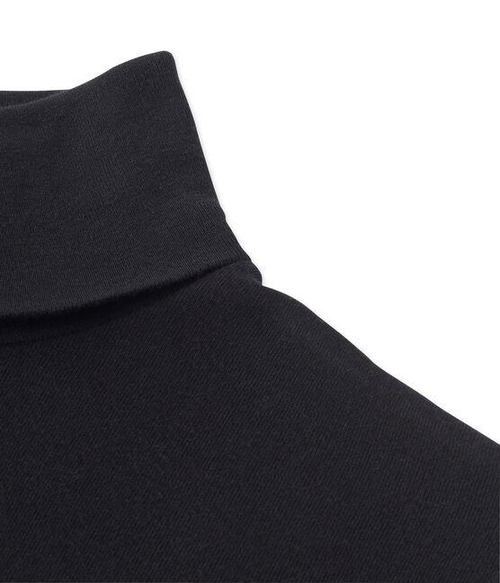 Damen-Unterziehpullover schwarz Noir