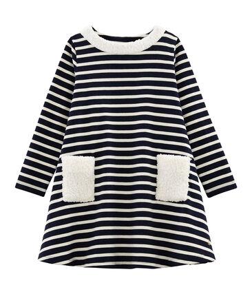 Langärmeliges Kinderkleid für Mädchen