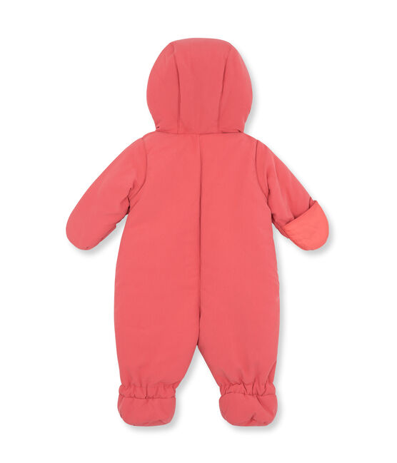 Baby-Fliegeroverall unisex aus Mikrofaser rosa Cosmetique