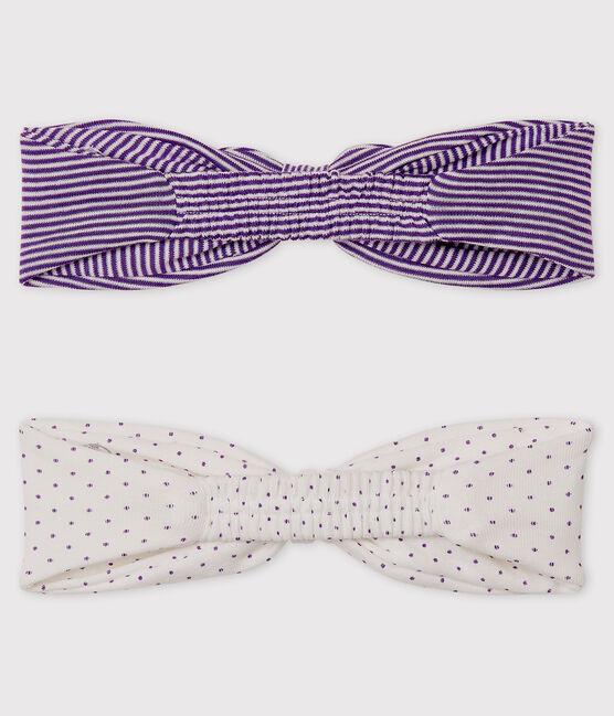 Set aus 2 Baby-Haarbändern für Mädchen lot .