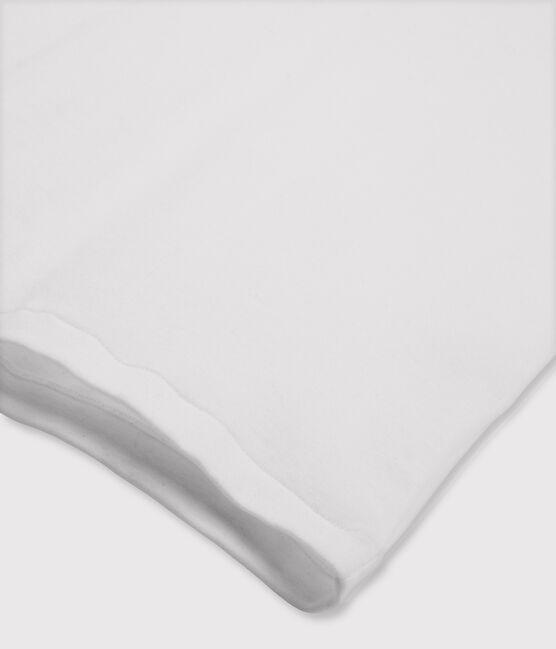Damen-T-Shirt mit Rundhalsausschnitt weiss Ecume
