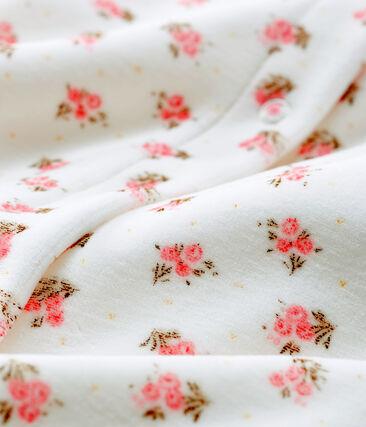 Baby-Bodyjama aus Samt für Mädchen