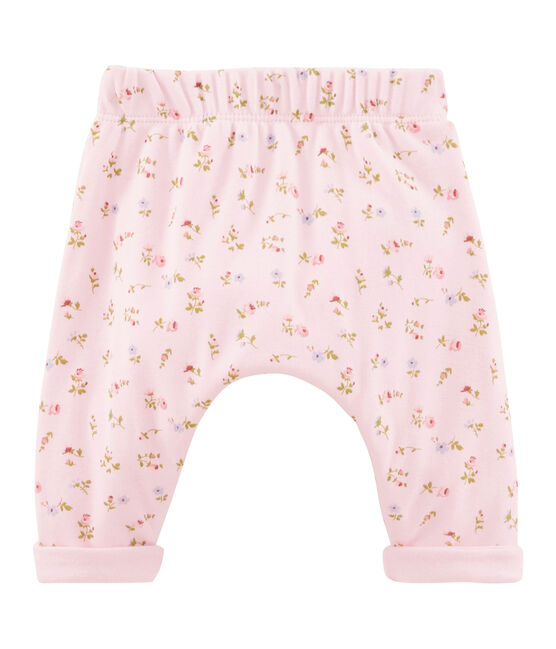 Unisex Baby Hose rosa Vienne / weiss Multico