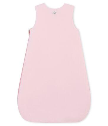 Baby MädchenSchlafsack aus einfarbigem Nicki