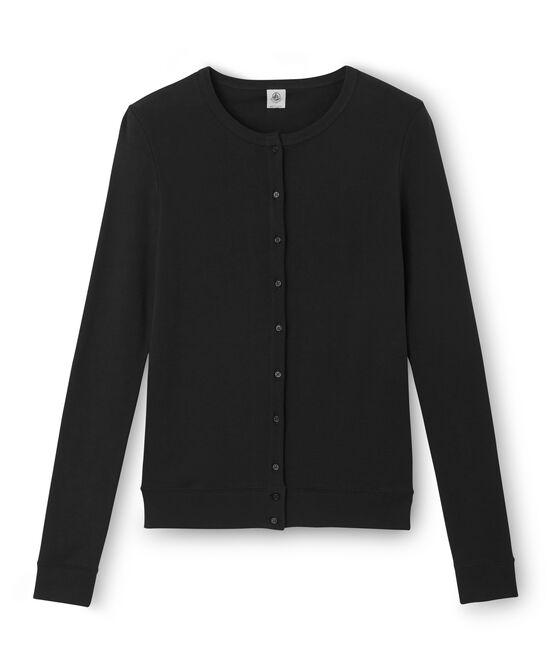 Cardigan für Damen schwarz Noir