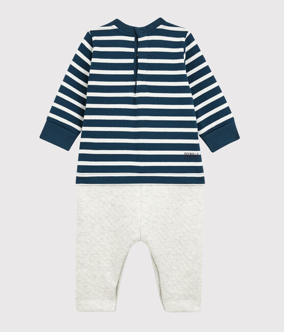 Langer Overall Petit Bateau x Deyrolle SHADOW/MULTICO