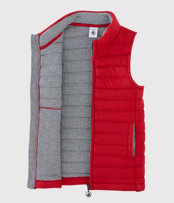 Ärmellose Jacke für Mädchen und Jungen rot Terkuit