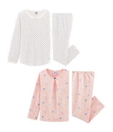 2er-Set Pyjamas für Mädchen