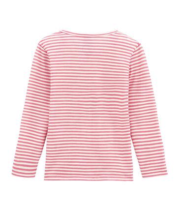 Mädchen Langarmshirt aus Woll/Baumwollgemisch.