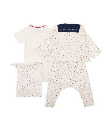 4-Teiliges gemustertes baby-set für jungen lot .