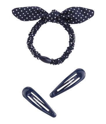 Set aus Haar-Accessoires für Mädchen lot .