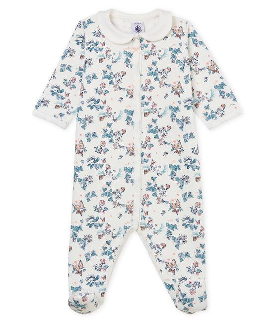 Baby-Strampler für Mädchen weiss Marshmallow / weiss Multico