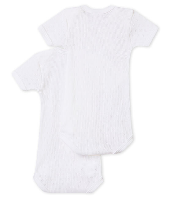 Unisex-Baby-Kurzarmbodys im 2er-Set lot .