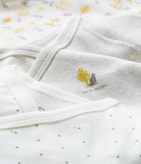 3er-Set langärmlige Neugeborenen-Bodys für Jungen lot .
