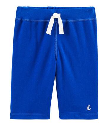Kinder-Bermuda für Jungen blau Surf