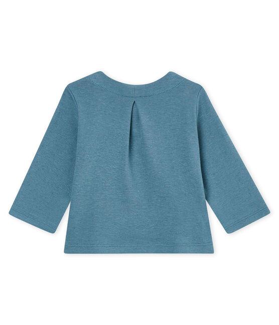 Baby-cardigan aus baumwolle/leinen mädchen blau Crystal