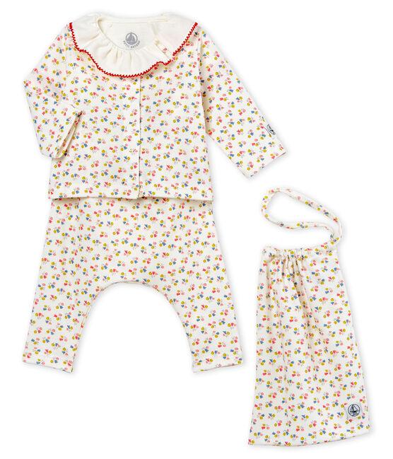 4-Teiliges gemustertes baby-set für mädchen lot .