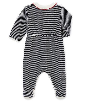 Baby MädchenStrampler mit klassischem Streifenmuster
