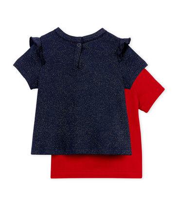 Kurzärmelige baby-t-shirt mädchen lot .