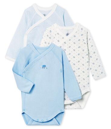3er-Set langärmelige bodys für neugeborene unisex