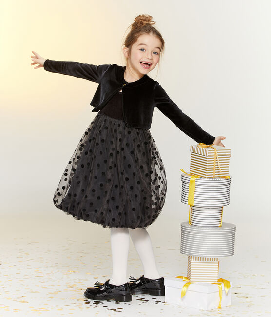 Set Kleid + Bolero für Mädchen lot .