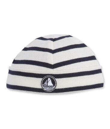 Baby-Jungen-Mütze aus schwerem Jersey