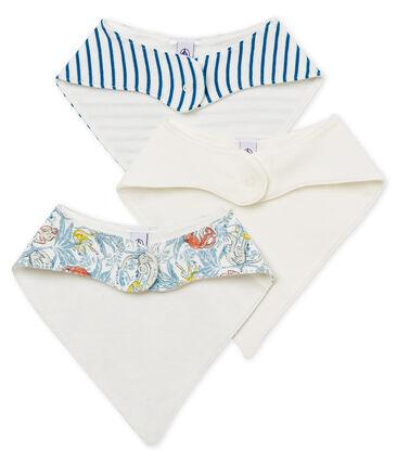 3er-Set Baby-Lätzchen aus Baumwolle für Jungen