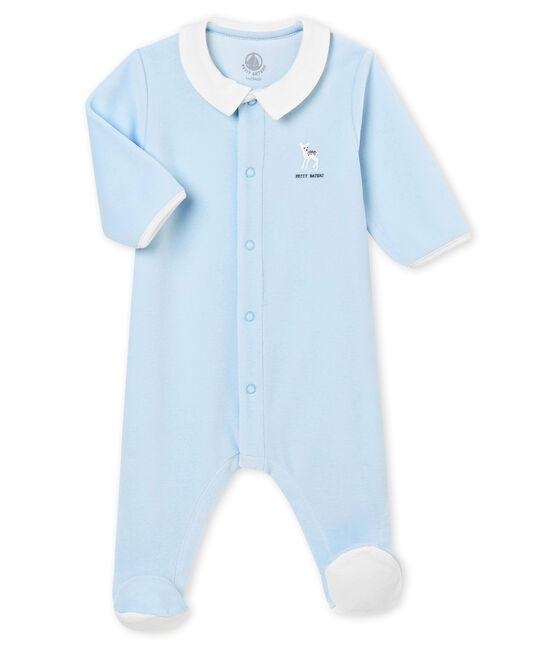 Baby Jungen Strampler aus Baby Jungen in Uni blau Fraicheur