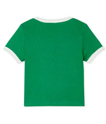 Kurzärmeliges Baby-T-Shirt für Jungen grün Prado