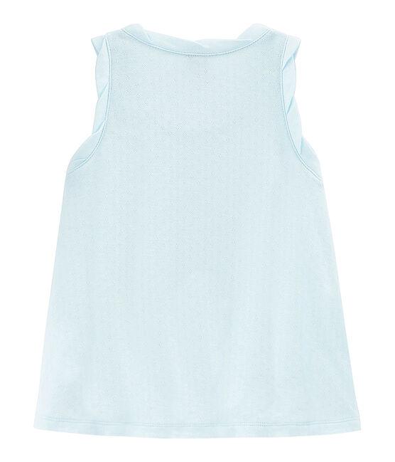 Kinder Tanktop Mädchen blau Bocal